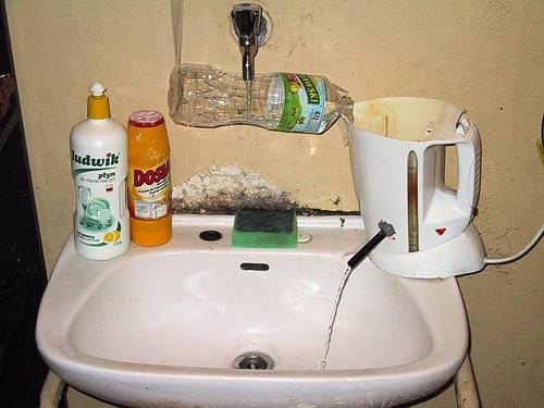 Jak ušetřit za teplou vodu