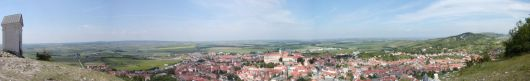 Panoramatický pohled ze Svatého Kopečku