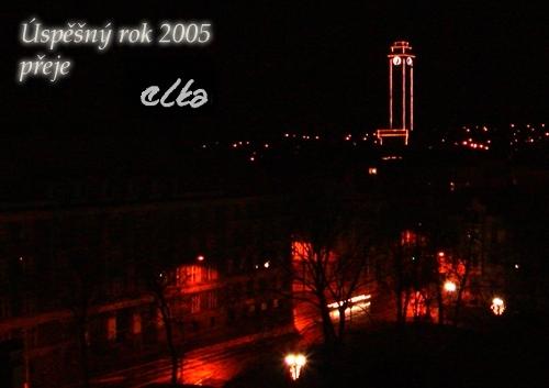 Úspěšný rok 2005 přeje eLKa