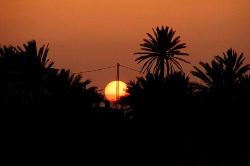 Západ slunce (Olympus C700UZ)