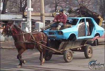 Výkon motoru - jeden kůň