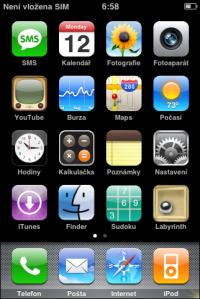 Titulní obrazovka