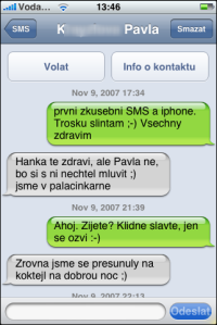 SMS jako chat