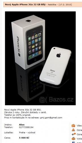Jak vydělávají zmetci na lidské blbosti #Apple #podvody
