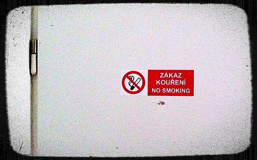 Zákaz kouření? Ale kdeže...