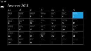 Měsíční kalendář... no...