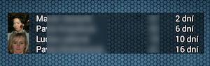Narozeniny - widget