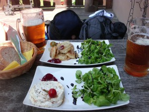 Lehký oběd v hospůdce Dukla