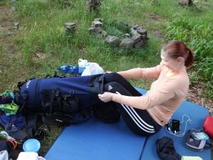 Já se do toho batohu prostě vlezu!