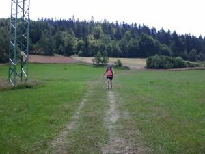 I z kopce se dá s plným báglem běžet